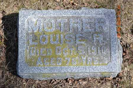 SMITH, LOUISE R. - Branch County, Michigan | LOUISE R. SMITH - Michigan Gravestone Photos