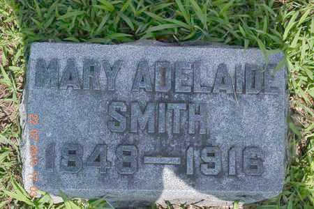 SMITH, MARY ADELAIDE - Branch County, Michigan | MARY ADELAIDE SMITH - Michigan Gravestone Photos