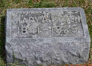 SMITH, MARY A. - Branch County, Michigan   MARY A. SMITH - Michigan Gravestone Photos