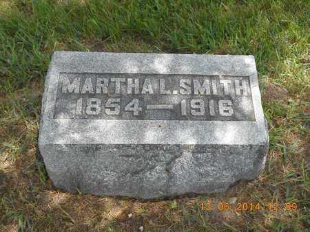 SMITH, MARTHA L. - Branch County, Michigan | MARTHA L. SMITH - Michigan Gravestone Photos