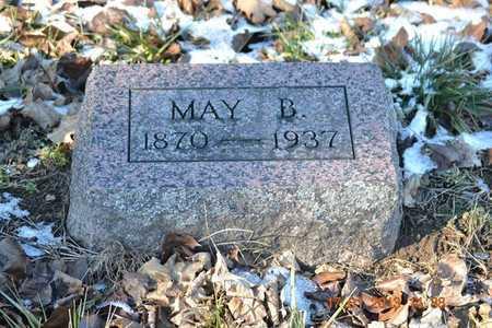 SMITH, MAY B. - Branch County, Michigan   MAY B. SMITH - Michigan Gravestone Photos