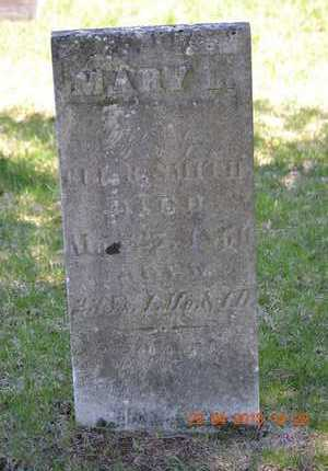 SMITH, MARY L. - Branch County, Michigan   MARY L. SMITH - Michigan Gravestone Photos