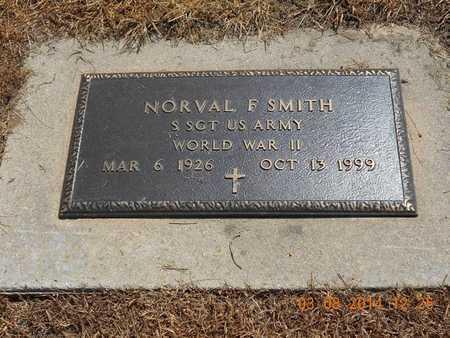SMITH, NORVAL F. - Branch County, Michigan | NORVAL F. SMITH - Michigan Gravestone Photos
