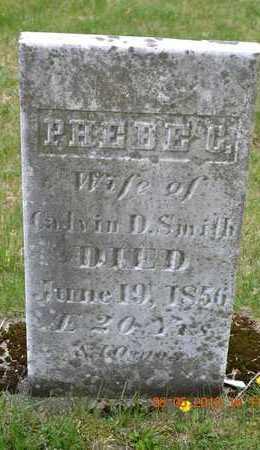 SMITH, PHEBE C. - Branch County, Michigan | PHEBE C. SMITH - Michigan Gravestone Photos