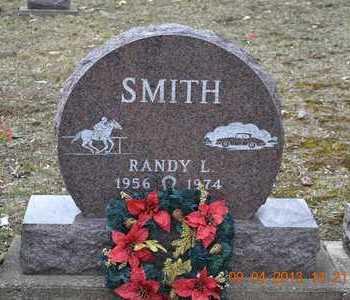 SMITH, RANDY L. - Branch County, Michigan | RANDY L. SMITH - Michigan Gravestone Photos