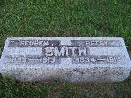 SMITH, REUBEN - Branch County, Michigan | REUBEN SMITH - Michigan Gravestone Photos