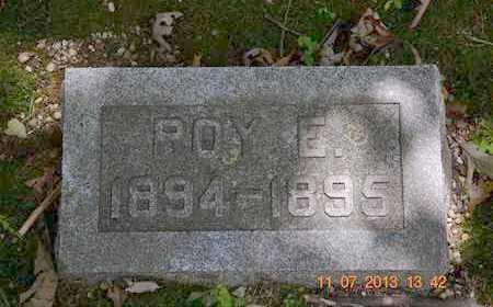 SMITH, ROY E. - Branch County, Michigan | ROY E. SMITH - Michigan Gravestone Photos