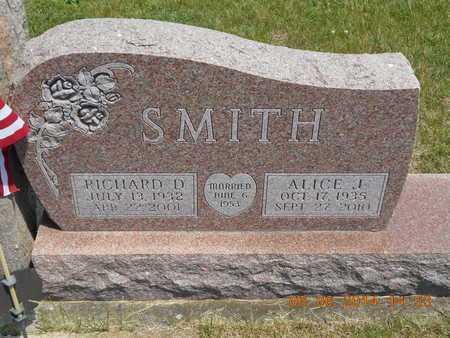 SMITH, ALICE J. - Branch County, Michigan   ALICE J. SMITH - Michigan Gravestone Photos
