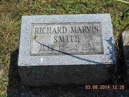 SMITH, RICHARD MARVIN - Branch County, Michigan   RICHARD MARVIN SMITH - Michigan Gravestone Photos