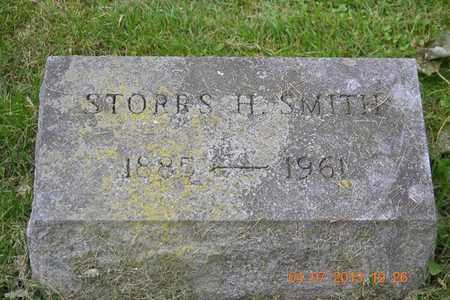 SMITH, STORRS H. - Branch County, Michigan | STORRS H. SMITH - Michigan Gravestone Photos