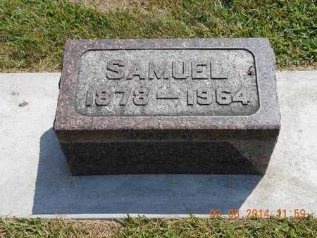 SMITH, SAMUEL - Branch County, Michigan | SAMUEL SMITH - Michigan Gravestone Photos