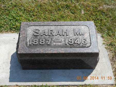 SMITH, SARAH M. - Branch County, Michigan | SARAH M. SMITH - Michigan Gravestone Photos