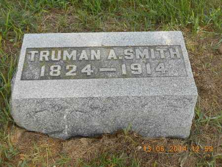 SMITH, TRUMAN A. - Branch County, Michigan | TRUMAN A. SMITH - Michigan Gravestone Photos