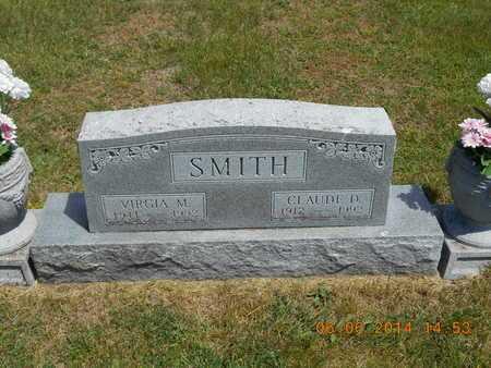 SMITH, VIRGIA M. - Branch County, Michigan | VIRGIA M. SMITH - Michigan Gravestone Photos