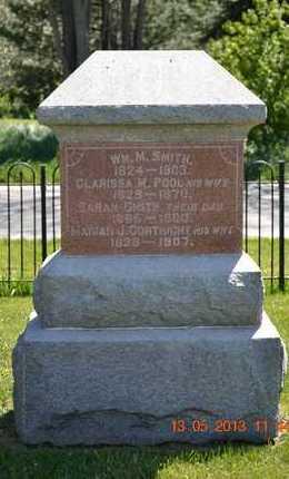 SMITH, MARIAH J. - Branch County, Michigan | MARIAH J. SMITH - Michigan Gravestone Photos