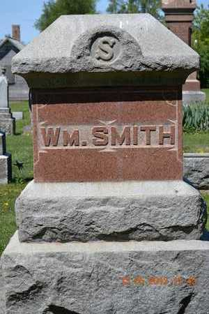 SMITH, WM.(REVERSE OF MARKER) - Branch County, Michigan | WM.(REVERSE OF MARKER) SMITH - Michigan Gravestone Photos