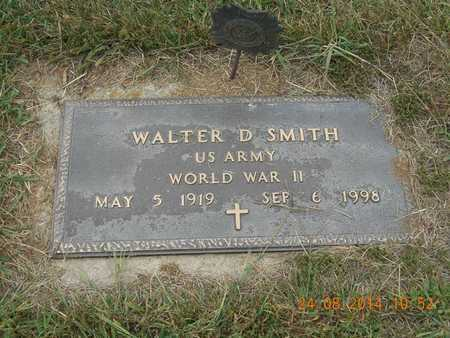 SMITH, WALTER D. - Branch County, Michigan   WALTER D. SMITH - Michigan Gravestone Photos
