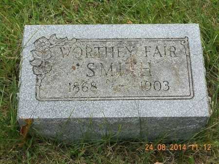 SMITH, WORTHEY - Branch County, Michigan | WORTHEY SMITH - Michigan Gravestone Photos