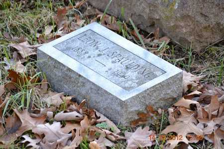 SPAULDING, LEON J. - Branch County, Michigan | LEON J. SPAULDING - Michigan Gravestone Photos