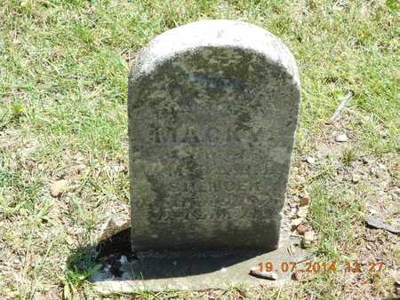 SPENCER, MACKY - Branch County, Michigan | MACKY SPENCER - Michigan Gravestone Photos