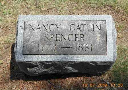 CATLIN SPENCER, NANCY - Branch County, Michigan | NANCY CATLIN SPENCER - Michigan Gravestone Photos