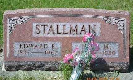 STALLMAN, NEVA M. - Branch County, Michigan | NEVA M. STALLMAN - Michigan Gravestone Photos