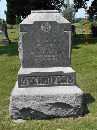 STANDIFORD, SARAH C. - Branch County, Michigan | SARAH C. STANDIFORD - Michigan Gravestone Photos