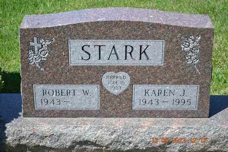 STARK, ROBERT W. - Branch County, Michigan | ROBERT W. STARK - Michigan Gravestone Photos