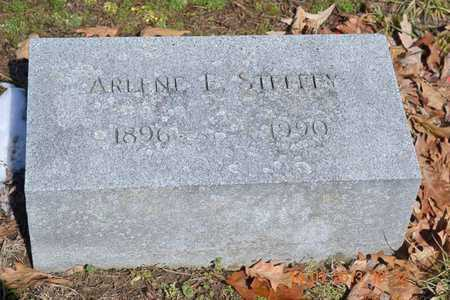 STEFFEY, ARLENE L. - Branch County, Michigan | ARLENE L. STEFFEY - Michigan Gravestone Photos