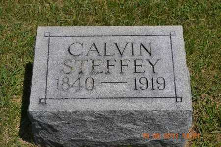 STEFFEY, CALVIN - Branch County, Michigan | CALVIN STEFFEY - Michigan Gravestone Photos