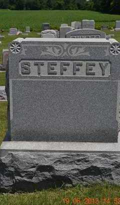 STEFFEY, FAMILY - Branch County, Michigan   FAMILY STEFFEY - Michigan Gravestone Photos