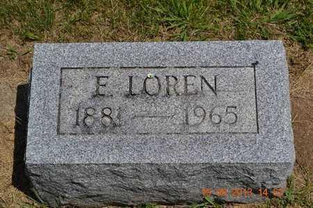 STEFFEY, F. LOREN - Branch County, Michigan | F. LOREN STEFFEY - Michigan Gravestone Photos