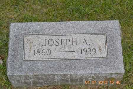 STEFFEY, JOSEPH A. - Branch County, Michigan | JOSEPH A. STEFFEY - Michigan Gravestone Photos