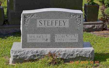 STEFFEY, MAURICE E. - Branch County, Michigan | MAURICE E. STEFFEY - Michigan Gravestone Photos
