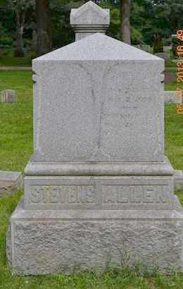 ALLEN, FAMILY - Branch County, Michigan | FAMILY ALLEN - Michigan Gravestone Photos