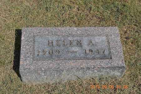 STEWART, HELEN A. - Branch County, Michigan | HELEN A. STEWART - Michigan Gravestone Photos