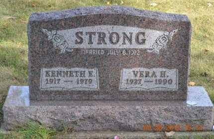 STRONG, VERA H. - Branch County, Michigan | VERA H. STRONG - Michigan Gravestone Photos