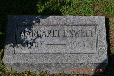 SWEET, MARGARET - Branch County, Michigan | MARGARET SWEET - Michigan Gravestone Photos