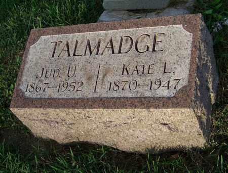 TALMADGE, JUD - Branch County, Michigan | JUD TALMADGE - Michigan Gravestone Photos