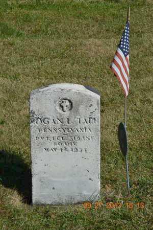 TARR, LOGAN L. - Branch County, Michigan | LOGAN L. TARR - Michigan Gravestone Photos