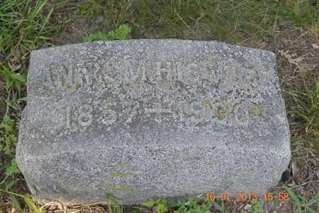 THOMAS, ANNA - Branch County, Michigan | ANNA THOMAS - Michigan Gravestone Photos