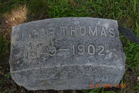 THOMAS, JACOB - Branch County, Michigan | JACOB THOMAS - Michigan Gravestone Photos