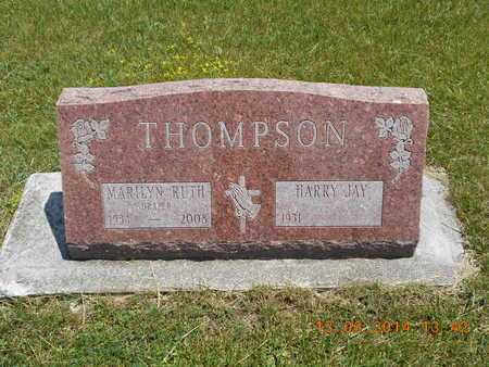 THOMPSON, HARRY JAY - Branch County, Michigan | HARRY JAY THOMPSON - Michigan Gravestone Photos