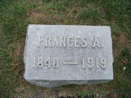 TIFT, FRANCES - Branch County, Michigan | FRANCES TIFT - Michigan Gravestone Photos