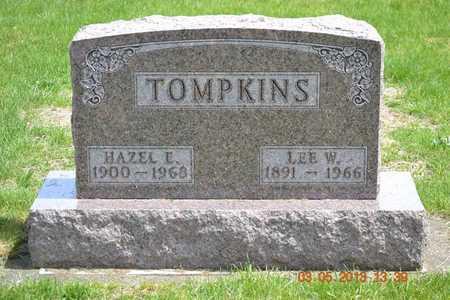 TOMPKINS, LEE W. - Branch County, Michigan   LEE W. TOMPKINS - Michigan Gravestone Photos