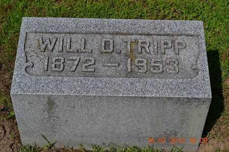 TRIPP, WILL - Branch County, Michigan | WILL TRIPP - Michigan Gravestone Photos