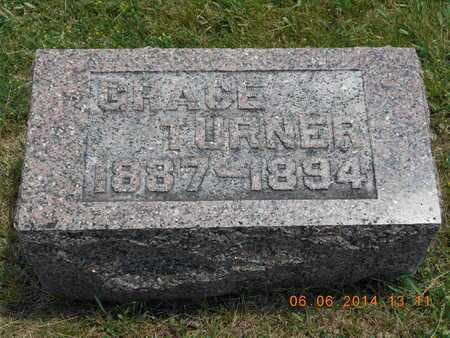 TURNER, GRACE - Branch County, Michigan | GRACE TURNER - Michigan Gravestone Photos