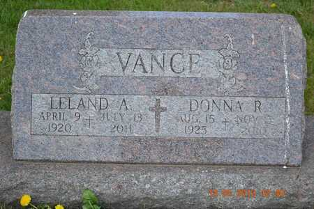 VANCE, LELAND A. - Branch County, Michigan | LELAND A. VANCE - Michigan Gravestone Photos