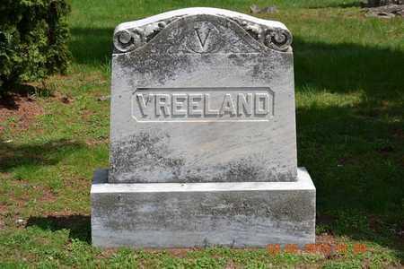 VREELAND, LOT MARKER - Branch County, Michigan | LOT MARKER VREELAND - Michigan Gravestone Photos