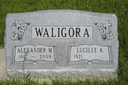WALIGORA, LUCILLE A. - Branch County, Michigan | LUCILLE A. WALIGORA - Michigan Gravestone Photos